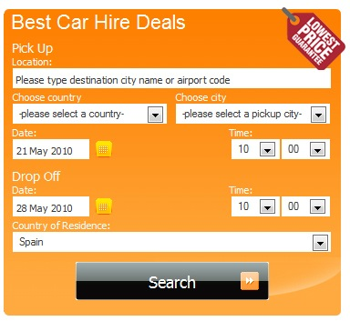 best-car-hire-deal