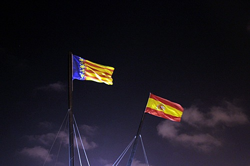 valencia-spain-flags