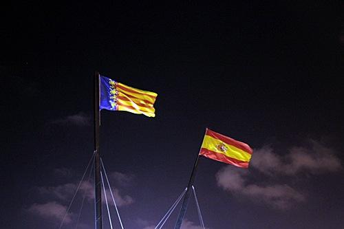 valencia-spain-flags